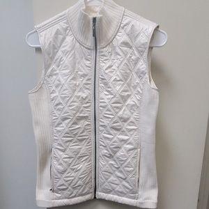 Prana Quilted Zip Up Vest